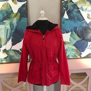 Jackets & Blazers - Red Rain Jacket
